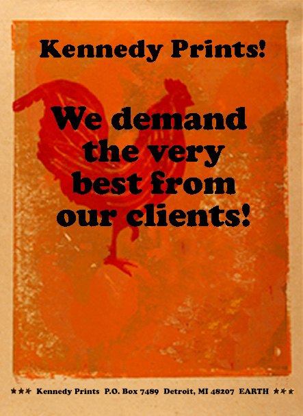 Kennedy Prints Letterpress Printery Home page